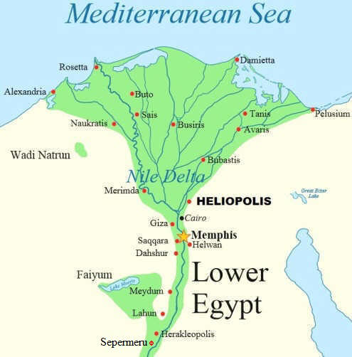 Where Is Ancient Egypt Located On The Map Geography and Egypt's Expansion   Ancient Egypt